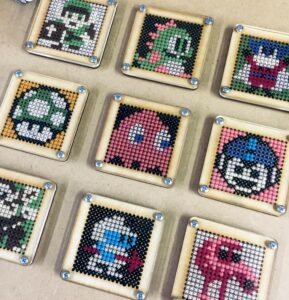 Image of 8-Bit Cross Stitch - Make Stuff North East Activity