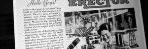 Image of Erector set - 1930s Advertising