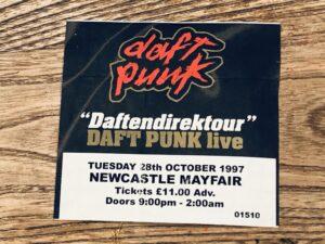 Image of a Newcastle Mayfair ticket | Daft Punk - Daftendirektour 1997